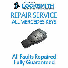 Repair Service For Mercedes Benz C ML E CLK B CLS S 3 Button Smart Key