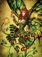 St. Patricks Day Sexy Irish Girl Leprechaun Beer Fridge Magnet Art Decoration #1