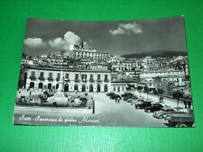 Cartolina Patti ( Messina ) - Panorama da Piazza Marconi 1958