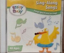 Brainy Baby Sing-Along Songs CD BRAND NEW/ SEALED FREE SHIPPING
