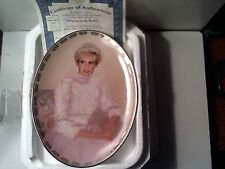 1998 Mint Princess Diana Collector Plate Bradford Exchange Princess To The World