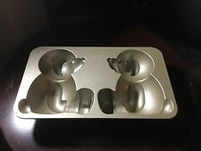 Nordic Ware 10~Cup 3~D Stand-Up TEDDY Build~A~BEAR Cake Pan Mold - Used Once