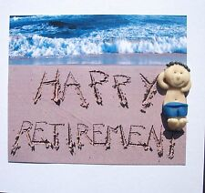 Personalised Happy retirement card by Hot Dough Creations