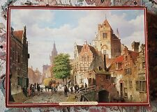 Waddingtons 4000 piece Puzzle - N°2 - A Street scene in Amsterdam - Very Rare !!