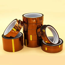 Hot! Sale 5mm 100ft Gold High Temperature Heat Resistant Kapton Tape Polyimide