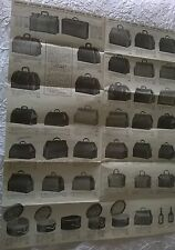 AMERICAN LEATHER GOODS COMPANY vintage luggage & trunk illustrated price sheet