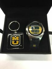 University Of Missouri Tigers Digital Sports Watch & Key Chain Gift Set Rockbox