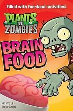 Plants Vs Zombies - Brain Food (2013) - Used - Trade Cloth (Hardcover)