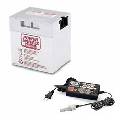 Power Wheels 12 Volt Gray Battery & Quick Charger Combo 12V  # 00801-0638