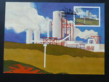 geology geothermal energy earth Europa Cept 1983 maximum card Azores 70138