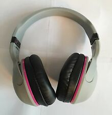Skullcandy Skull Candy Hesh 2 Headband Headphones Gray Grey Cyan/ Hot Pink