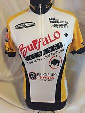 "VOmax Cycling Jersey ""BUFFALO EXCHANGE"" Fairwheel Bikes Tucson AZ Men 2/Small"