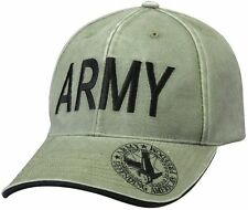Vintage Deluxe Army Low Profile Insignia Cap - Olive Drab Rothco 9888