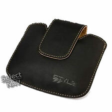 LEATHER CARRY CASE TOMTOM ONE V2/V3 NEW EDITION EXPLORE VERSION 2 AND 3 BNIP
