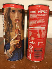 "Coca Cola Serie ""Taste The Felling"" 330 ml Lattina in foto inserzione:leggi"