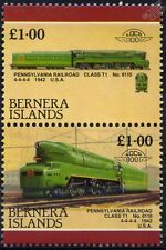1942 PR Class T1 No.6110 4-4-4-4 Pennsylvania Railroad Train Stamps (Bernera)