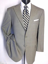 Ermenegildo Zegna Gritti Light Brown Plaids & Checks 3Button Suit  Jacket 44R