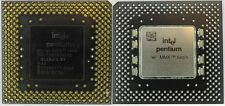 Processeur  INTEL Pentium MMX 200 PPGA SL26J Collection Old Cpu Vintage Testé OK