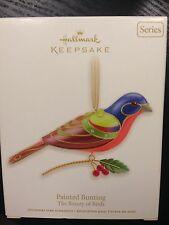 HALLMARK 2012 THE BEAUTY OF BIRDS PAINTED BUNTING