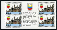 Ireland 708a, MNH. Dublin Millennium Booklet pane of 4 in Gaelic, 1988