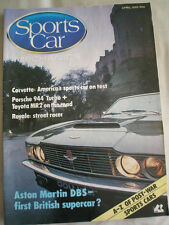 Sports Car Mechanics Apr 1985 Porsche 944 Turbo, Toyota MR2, Aston Martin DBS