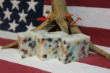 Chunky Cocoa & Shea Butter Handmade Soap! 5 oz Homemade Bar by Dixie Bend Soaps!