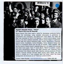 (FA570) Brandt Brauer Frick, Miami - 2013 DJ CD