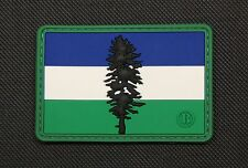 3D PVC Cascadia Flag Rubber Patch Timbers Sounders Whitecaps Pacific Northwest