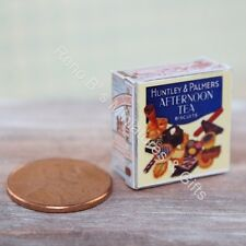 Dollhouse miniature 1:12 Vintage Replica 1930s Afternoon Tea Biscuits Tin NEW