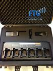 Outdoor 6er Kofferset mit Motorola DP1400 Funkgeräte VHF und 6-fach Lader + LSM
