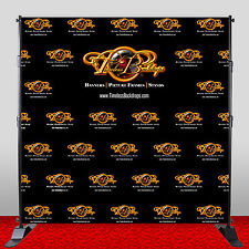 7ftx7ft Customized Premeium Grade A1 Polyester Backdrop Washable Wrinkle Free