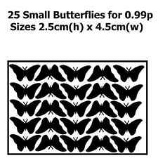 Butterfly Wall Stickers Decal Car Graphic Stencil Removable Transfer Decoration