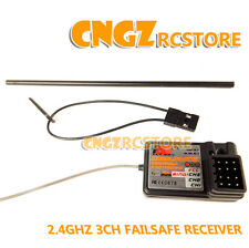 FlySky FS GT3B GT2B GT3C Transmitter HSP RC Car Boat 3Channel 2.4Ghz  Receiver