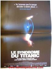 LE SYNDROME DU TITANIC Movie Poster / Affiche Cinéma NICOLAS HULOT