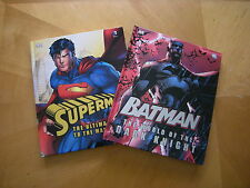 Superman: The Ultimate Guide & Batman: The World of the Dark Knight..2 New H/C's