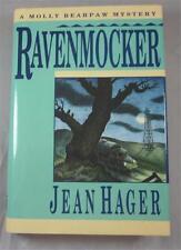 RAVENMOCKER JEAN HAGER 1992 1ST ED DJ MOLLY BEARPAW CHEROKEE INDIAN MYSTERY