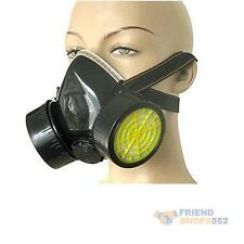 NEW Respirator Face Mask Dual Cartridge Anti Dust Paint Chemical Gas Mask