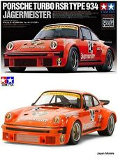 PORSCHE TURBO RSR TYPE 934 JAGERMEISTER Tamiya 24328 1/24 Model Kit New Nuovo