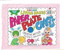 Paper Plate Crafts: Creative Art Fun for 3- To 7-Year Olds (Williamson Little Ha
