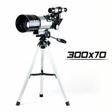 New 300x70mm Astronomical Astronomy Portable Telescope Sporting Scope Monocular