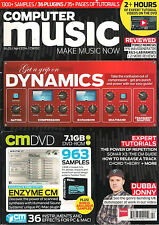 COMPUTER MUSIC April 2014 Dynamics Dubba Jonny Video DVD Enzyme CM Synth Samples