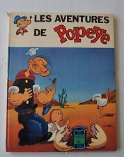 les AVENTURES DE POPEYE French Comic Book BD 1969
