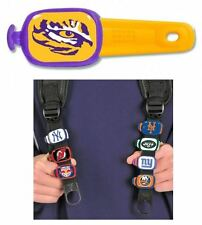 "LSU TIGERS EYE LUGGAGE TAG, BACKPACK TAG, BAG TAG, EVERYTHING TAG - ""STWRAP"""