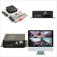 4CH Car Autos RV Ambulance Mobile HD DVR Realtime Video/Audio Recorder SW-0001A