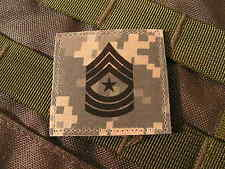 Galons velcro US - SERGEANT MAJOR - grade scratch ACU DIGITAL rank insignia