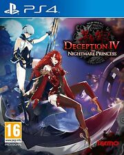 PS4 Game Deception 4 IV The Nightmare Princess NEW
