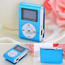 Clip Mini LCD Screen MP3 Music Media Player With FM Radio Support 32GB TF Card