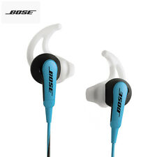 Bose SoundSport In-Ear Headphones, earphones blue. MIC. Android apple iOS. 3.5mm