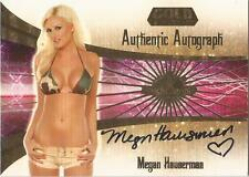 "Benchwarmer 2007 Gold Edition -  #7 of 30 ""Megan Hauserman"" Autograph Card"