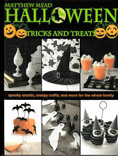 Halloween : Tricks and Treats by Matthew Mead (2008, Hardcover)